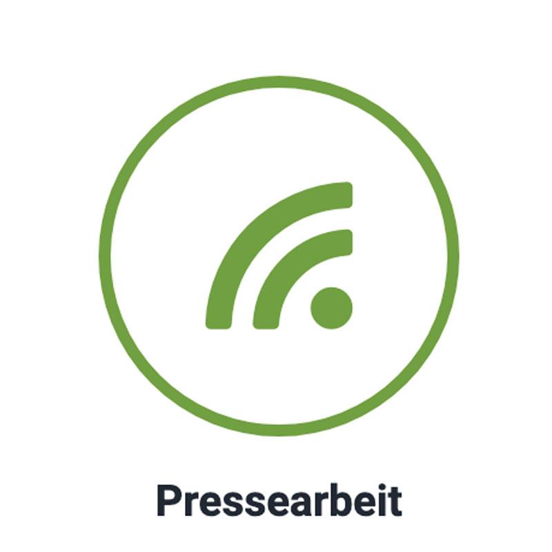Pressearbeit Icon